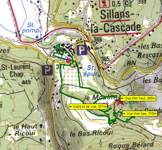 Le site de la commune de sillans