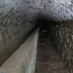 L'intérieur de l'aqueduc